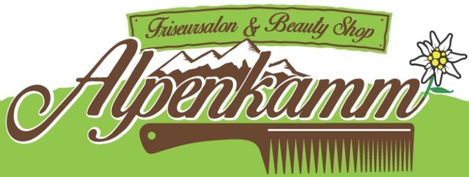 Alpenkamm Friseursalon Logo